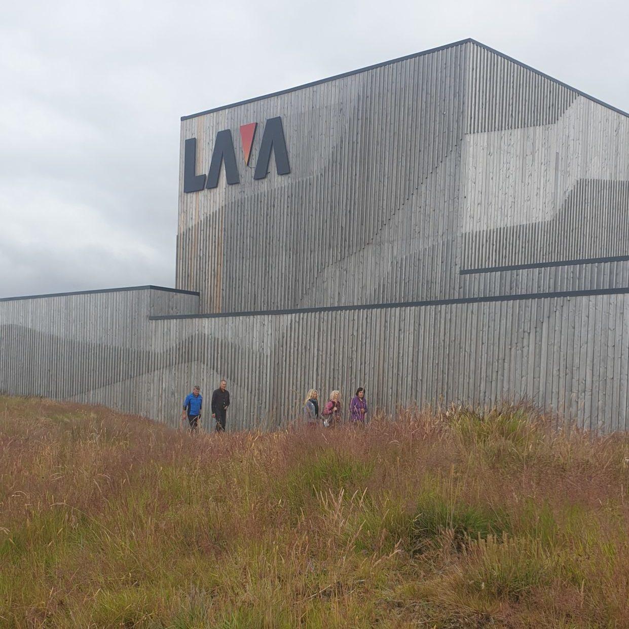 people entering LAVA Centre